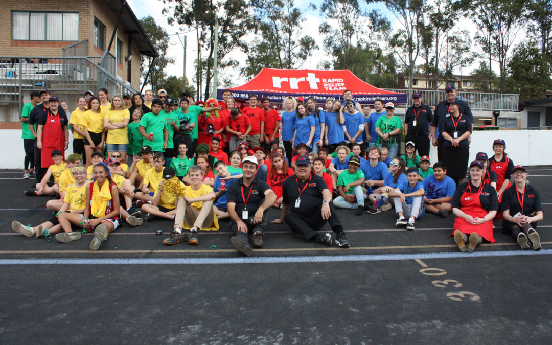 170 BURGERS TO FEED THE GOLD COAST'S MINI OLYMPIANS