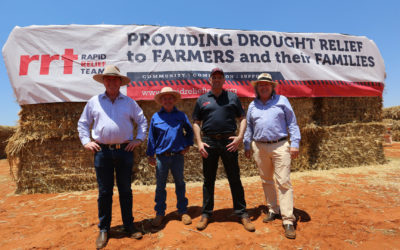 DELIVERING HAY AND HOPE TO OUTBACK QUEENSLAND