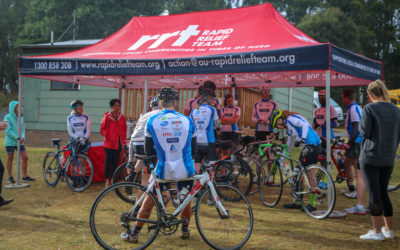 RAPID RELIEF TEAM SUPPORTS TASSIE POLLIE PEDAL