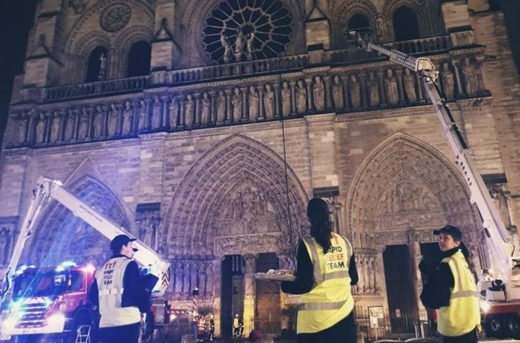 AUSSIE CHARITY RALLIES AROUND FRENCH COUNTERPARTS DURING NOTRE DAME INFERNO