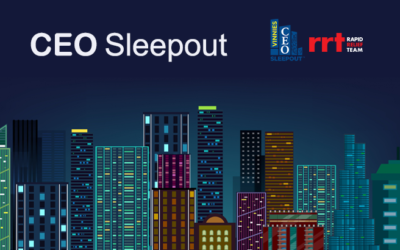 BRETHREN CHARITY SUPPORTS ANNUAL VINNIES CEO SLEEPOUT