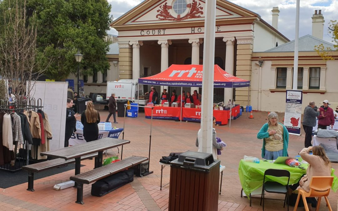 BRETHREN CHARITY RALLY TO SUPPORT HOMELESS IN ARMIDALE