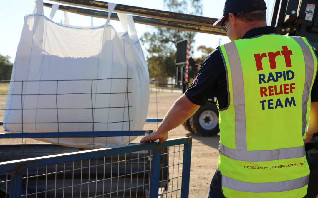 RRT'S 'OPERATION DROUGHT RELIEF' BRINGS FARMERS TOGETHER IN CONDOBOLIN