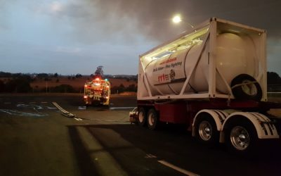 CHARITY WATER TANKERS DEPLOYED TO HELP NSW FIREFIGHTERS