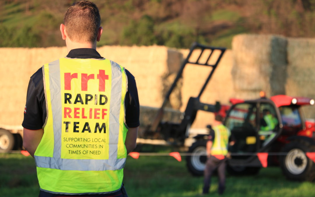 UPDATE TO RRT OPERATION FIRE RELIEF NSW SOUTH COAST