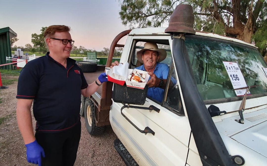 OPERATION DROUGHT RELIEF DELIVERS LIVESTOCK PELLETS TO DROUGHT AFFECTED BOURKE AND WALGETT