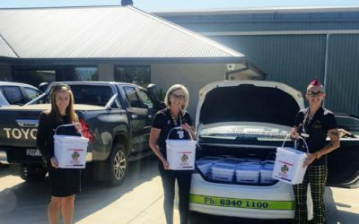 RRT DELIVERING FOOD BOXES TO FAMILIES IN NSW CENTRAL WEST