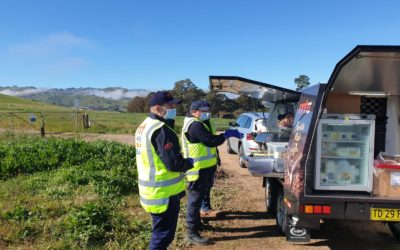 RAPID RELIEF TEAM SUPPORTS LAW ENFORCEMENT ON NSW-VIC BORDER