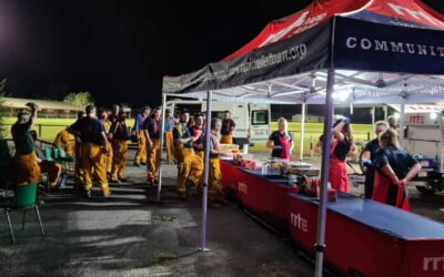 RAPID RELIEF TEAM WORKS THROUGH THE NIGHT TO SUSTAIN SOUTH AUSTRALIA'S FIREFIGHTERS