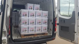 Brethren charity RRT food boxes distributed to help NSW during Covid-19